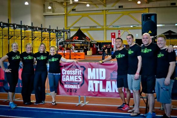 2012 Mid-Atlantic Regionals - CrossFit KoP Team