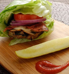 Lettuce-Wrapped-Turkey-Burger