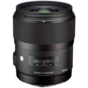 Sigma 35mm f/1.4 for Canon